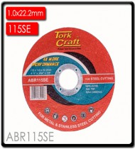 CUTTING DISC STEEL & SS 115 x 1.0 x 22.2 MM 4X MORE PERFORMANCE