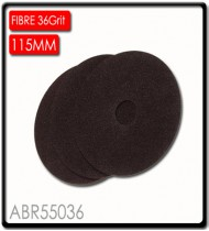 FIBRE DISC 115MM 36 GRIT BULK