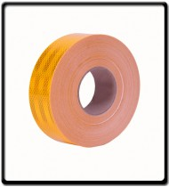 Reflective Tape Yellow | Sold Per Meter