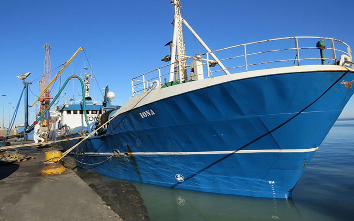 Etosha Fishing sells its purse seine vessels
