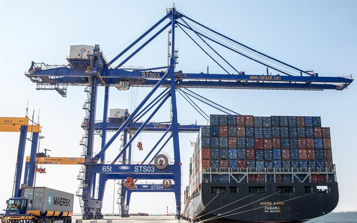 New Walvis Bay container terminal in Namibia inaugurated