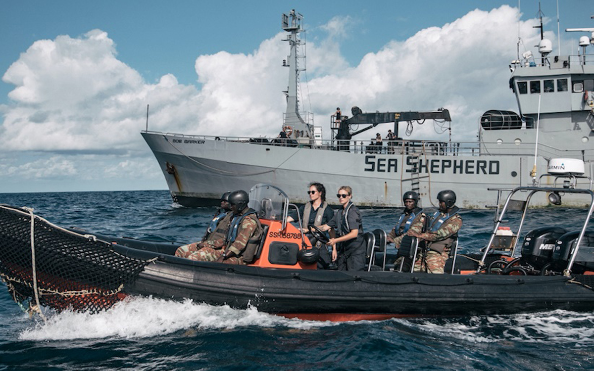 'Ocean Warrior' jointly carried out successful surveillance activity in Namibia.