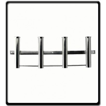 Stainless Steel 4 Boat Fishing Rods Holder