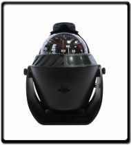 Compass with LED Light |102x94x137mm |Black