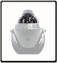 Compass with LED Light |102x94x137mm |White
