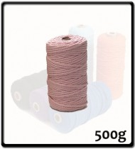 4mm - Macramé Cotton - Blush Pink| 500g