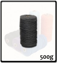 4mm - Macramé Cotton - Dark Grey| 500g