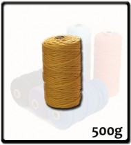 4mm - Macramé Cotton - Mustard| 500g