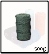 4mm - Macramé Cotton - Sage Green | 500g