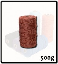 4mm - Macramé Cotton - Terracotta| 500g