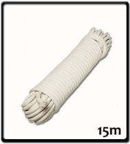 7mm - Cotton Sash Cord - Hank | 15m