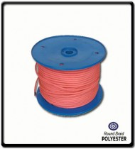 8mm Polyester Yacht Braid | Pink