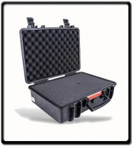 Plastic Case | 460X355X175MM with Foam Black