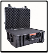 Plastic Case | 530X435X260MM OD with Foam Black