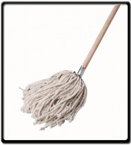 Mop 400g with Wooden Handle