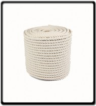 12mm | 3-Strand Cotton Rope | SOLD PER METER