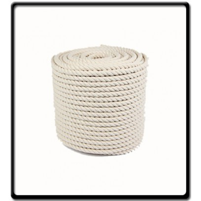 16mm | 3-Strand Cotton Rope | SOLD PER METER