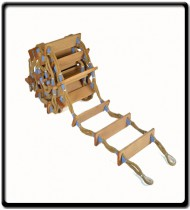 5m Pilot Ladder | Manilla Rope Ladder