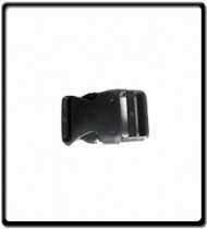 Quick Release Buckle Blk 25mm