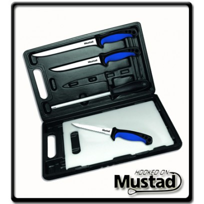 6 Piece Knife Set | Mustad