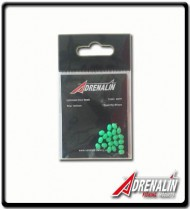 Green Luminous Glow Bead 4x5mm | PK20