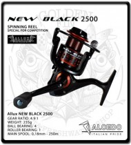 2500 New Black Reel | Alcedo