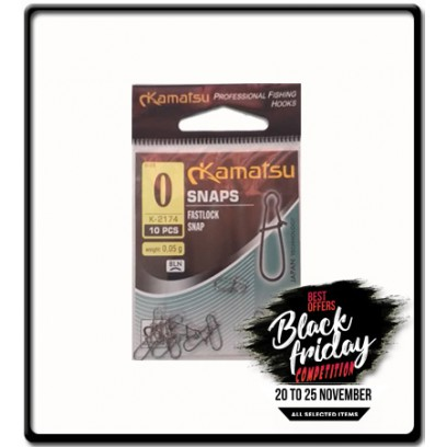 No. 0 - Fastlock Snap | 10Pcs