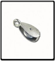 38mm Awning Pulley | Single Cast Sheave Fixed Eye