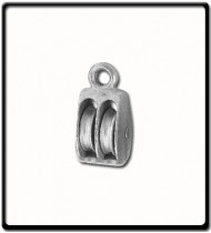 25mm Awning Pulley | Double Cast Sheave Fixed Eye