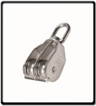 25M Double Pulley | Stainless Steel