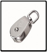 32M Single Pulley | Stainless Steel