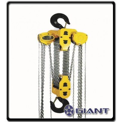 10Ton x 3metre Lift - Chainblock | Giant
