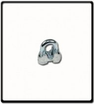 3mm | Galvanised Wire Clamp