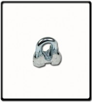10mm |Galvanised Wire Clamp