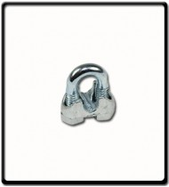 13mm | Galvanised Wire Clamp