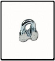 20mm | Galvanised Wire Clamp
