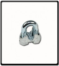 22mm | Galvanised Wire Clamp