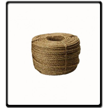 6mm | 3 Strand - Manilla Rope | SOLD PER METER