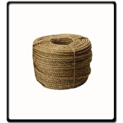 10mm | 3 Strand - Manilla Rope | SOLD PER METER