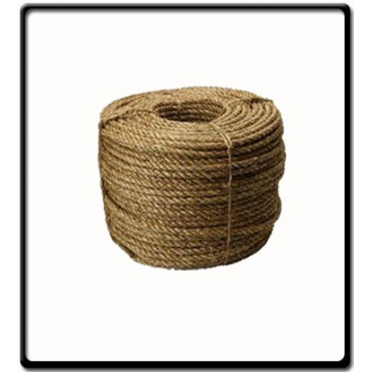 12mm | 3 Strand - Manilla Rope | SOLD PER METER
