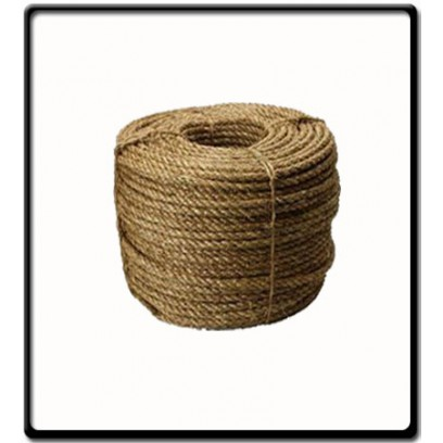 14mm | 3 Strand - Manilla Rope | SOLD PER METER