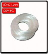 1.6 mm Snoek Monofilament Line (100m) | Clear