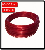2.5mm Longline Monofilament (1000m) | Red