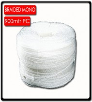 6mm Braided Monofilament (900m) | Clear | SOLD PER METER