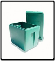 Rough Tote 68lt Box with Lid