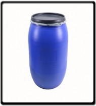 210L Drum with Lid | Blue