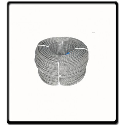 6mm Polysteel 3-Strand Rope | SOLD PER METER