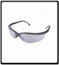 SAFETY EYEWEAR GLASSES SILVER