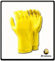 Glove Household Economy Yellow