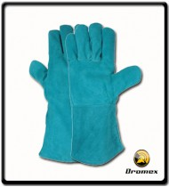 "Gloves Welding 16"" Green"
